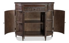 Burled Walnut Chest Bar Storage Galore Diamond Pattern