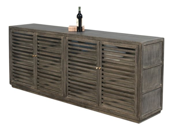 Antiqua Sideboard with Solid Sides Reclaimed Pine