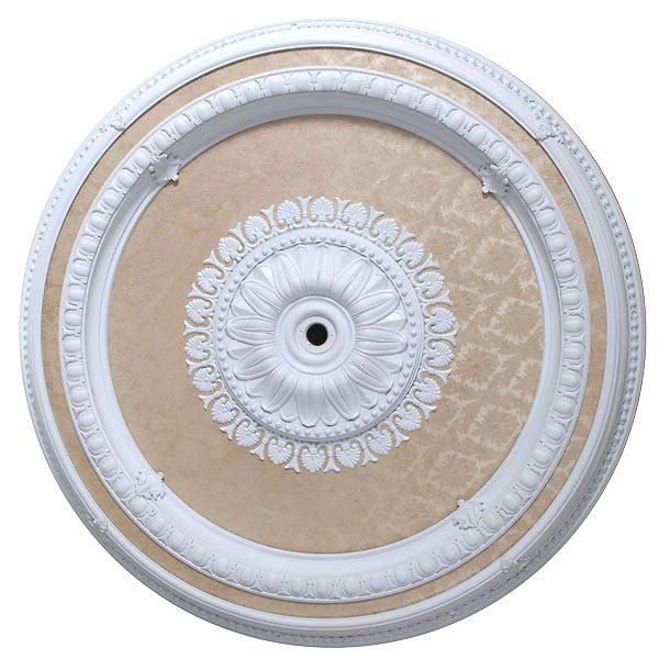 "Ceiling Medallion Round for Chandelier 47"" D"