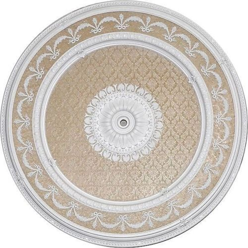 Garland Ceiling Medallion Round Antique White