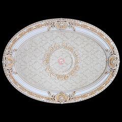Baroque Ceiling Medallion Antique White