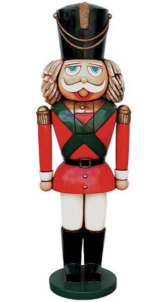 Life Size 6 Foot Nutcracker Decoration Holiday Christmas
