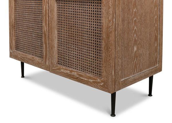 Cupboard Oak with Whitewash Finish
