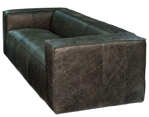 Bauhaus Sofa Couch Black Leather Modern