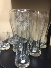 4th ID Pilsner Glass