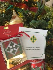 2016 Lenox Ornament with 4ID History