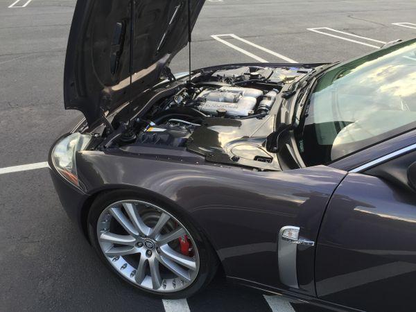 2007-2015 Jaguar XKR-S/ XKR/ XK Carbon Fiber Engine Panel Kit