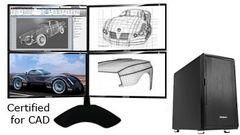 QuadStation 4 CAD Workstation