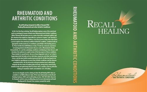 RECALL HEALING: RHEUMATOID AND ARTHRITIC CONDITIONS
