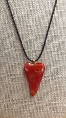 Abstract Heart Pendant