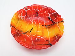 Small crackle bowl
