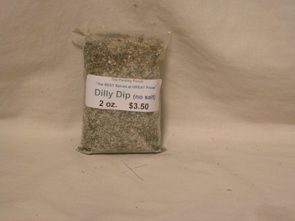 Dilly Dip (no salt,) 2 ounces
