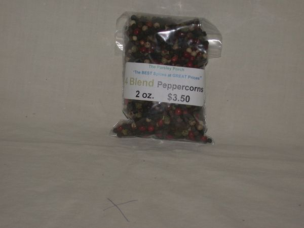 4 Blend Peppercorns, 2 oz.
