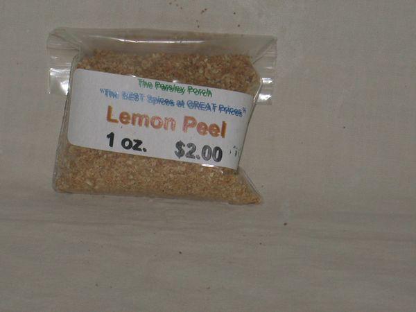 Lemon Peel, 1 oz.