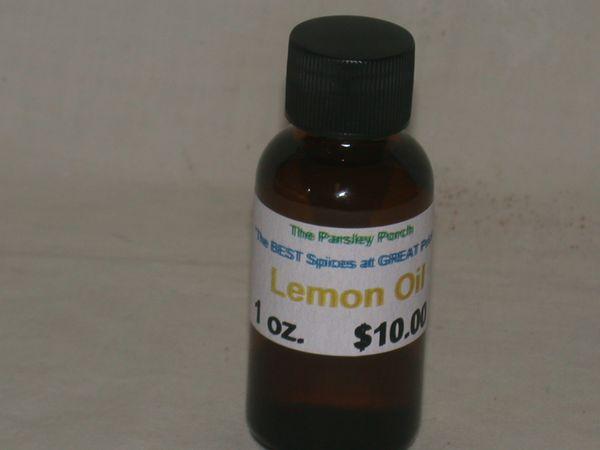 Lemon Oil, 1 oz.