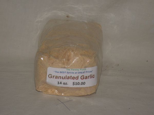 Granulated Garlic, 12 oz.