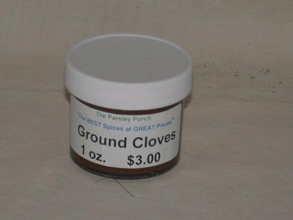 Ground Cloves, 1 oz.