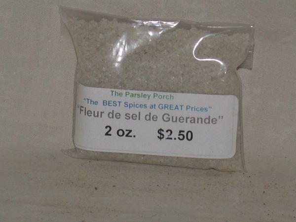 Sea Salt, Fleur de sel de Guerande, 2 oz.