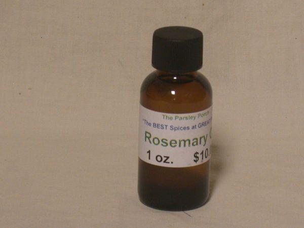 Rosemary Oil, 1 oz.