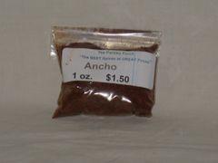 Ancho Chili Powder, 1 oz.