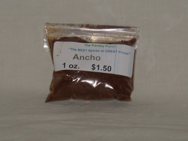 Ancho Chili Powder, 1 oz.