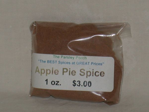 Apple Pie Spice 1 oz.