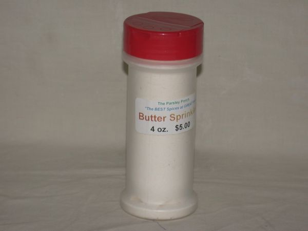 Butter Sprinkles, 4 oz., in a small shaker