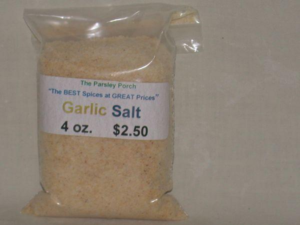 Garlic Salt, 4 oz.