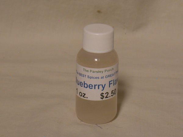 Blueberry Flavor, 1 oz.