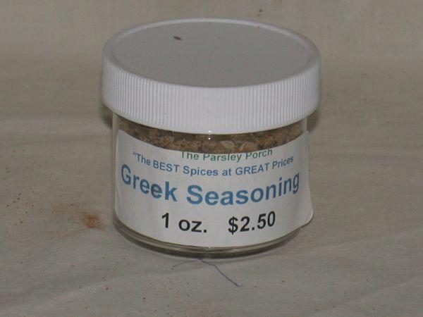 Greek Seasoning, 1 oz.