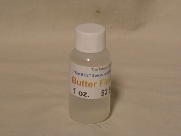 Butter Extract, 1 oz.