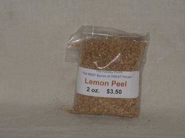 Lemon Peel, 2 oz.