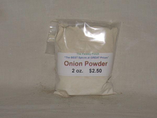 Onion, powdered, 2 oz.