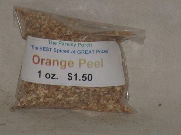 Orange Peel, 1 oz.