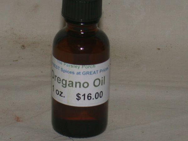 Oregano Oil, 1 oz.