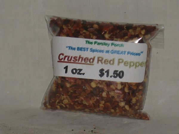 Peppers, Crushed Red, 1 oz.
