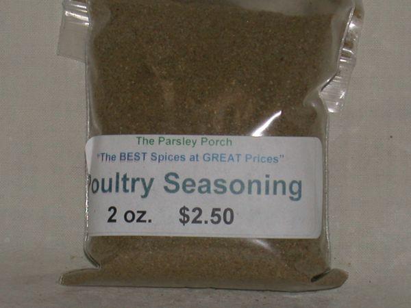 Poulty Seasoning, 2 oz.