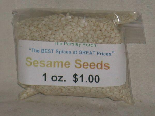 Sesame Seeds, 1 oz.