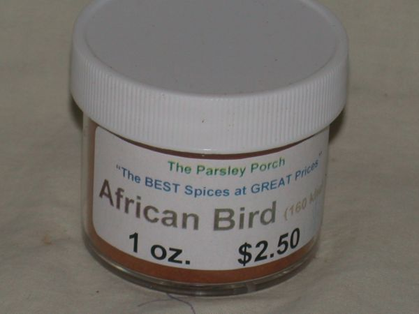 Cayenne (African Bird, 165 khu), 1 oz.