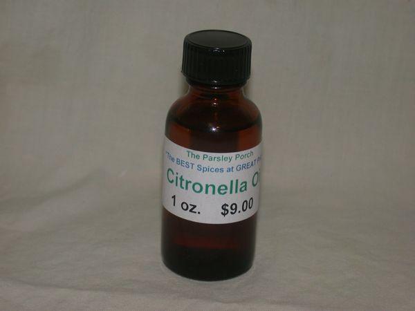 Citronella Oil, 1 oz.