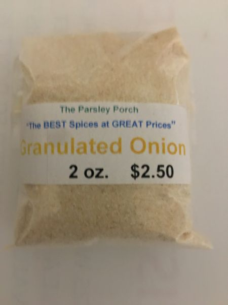 Onion, Granulated, 2 oz.
