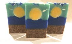 """Sun of a Beach"" Coconut Lime Bar Soap"