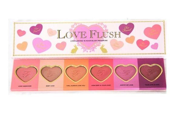 Too Faced Love Flush Long Lasting 16 Hour Blush Wardrobe