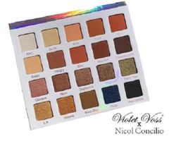 Nicol Concilio Violet Voss Palette