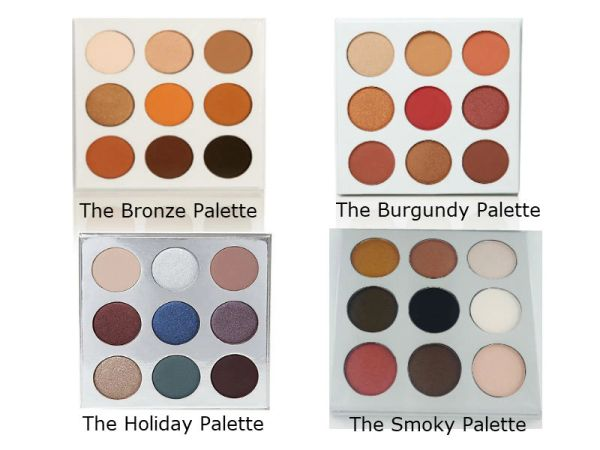 9 Colors Eyeshadow Palette by Duped Cosmetics®
