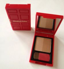 Elizabeth Arden Bronzing Powder Duo BRONZE BEAUTY with Brush