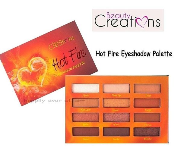 Beauty Creations Hot Fire Eyeshadow Palette