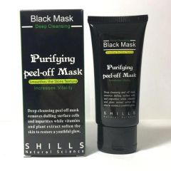 Shills Purifying Deep Cleansing Peel-off Black Mask