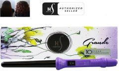 Herstyler Grande Curl Curling Iron, Purple, 18-25 Mm