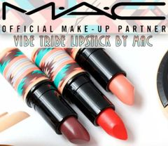 MAC Vibe Tribe Lipstick Discontinued Choose Your Shade